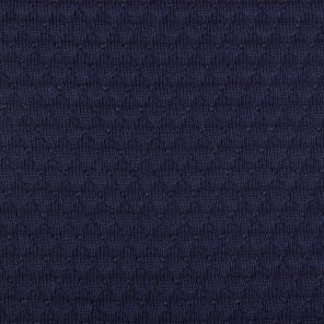 Black-Navy Knitted Fabric