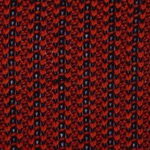 Red Black  Knittwear Look Fabric