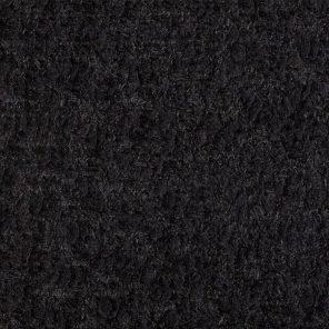 Black Soft Boucklee Hairy Fabric