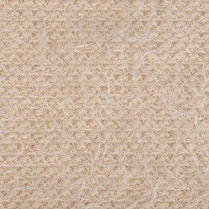 Ecru Hairy Knitted Fabric