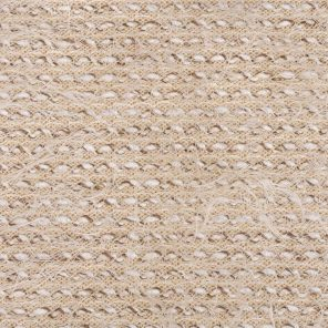 White-Beige Fancy Hairy Knitted Fabric