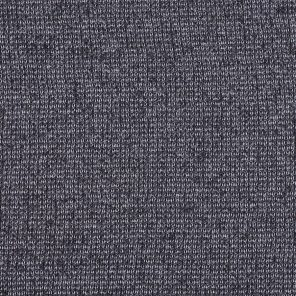Black Twisted Knitted Fabric