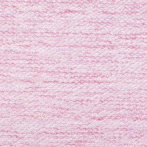 Pink Melange Effect Knitted Fabric