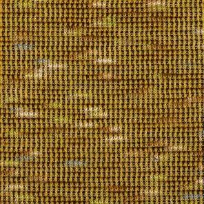 Mustard Colour Knitted Fabric With Ecru Slub Yarn