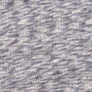 Multicolour Melange Effect Knitted Fabric