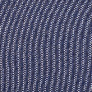 Blue With  Small White Points - Knitted Fabric
