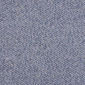 Blue-White Twisted  Fabricy Knitted Fabric
