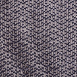 Grey-Blue Knitted Fabric