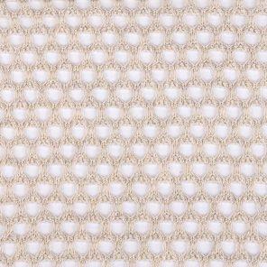 Light Beige Big Mesh Fabric