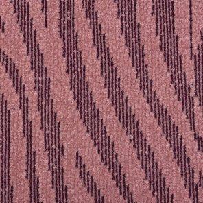 Pink Zebra Jaquard Knitted Fabric