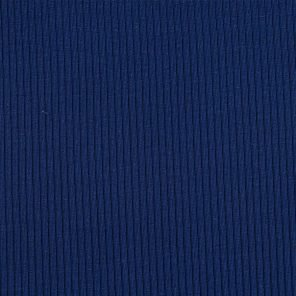 Blue Ribb Knitted Fabric